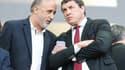 Pierre-Olivier Valaize avec Didier Lacroix