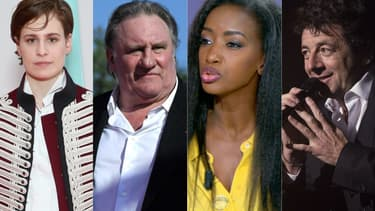 Chris(tine and the Queens), Gérard Depardieu, Hapsatou Sy et Patrick Bruel