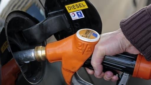 Le gazole valait en moyenne 1,32 euro, vendredi 24 janvier.