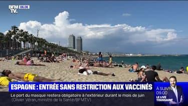 Covid-19: l'Espagne rouvre ses frontières à tous les touristes complètement vaccinés