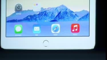 Le nouvel iPad embarque un système de reconnaissance d'empreintes digitales de type Touch ID, comme initié par l'iPhone 5S.