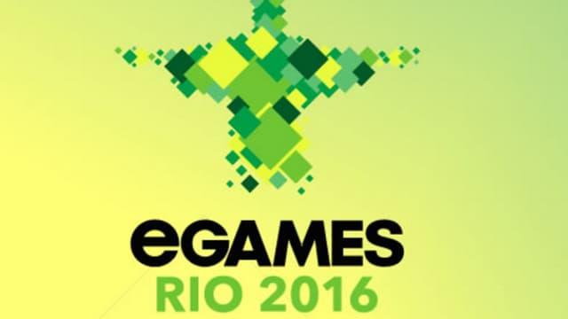 Le logo des eGames 2016