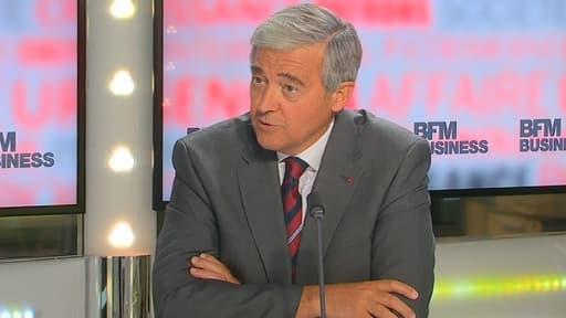 Pierre Mongin était l'invité de BFM Business, ce lundi 2 septembre