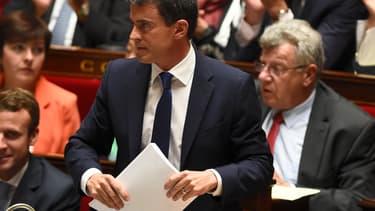 Manuel Valls défendra mercredi à l'Assemblée nationale l'intervention française en Irak.