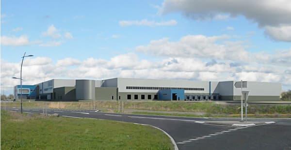 La plateforme logistique d'Action à Angers implique la construction d'un bâtiment de 56.000mètres carrés sur un terrain de 14 hectares.