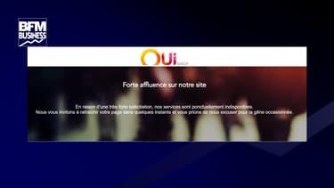 Après l'annonce d'un troisième confinement national, le site de réservations OUI SNCF est inaccessible ce 31 mars