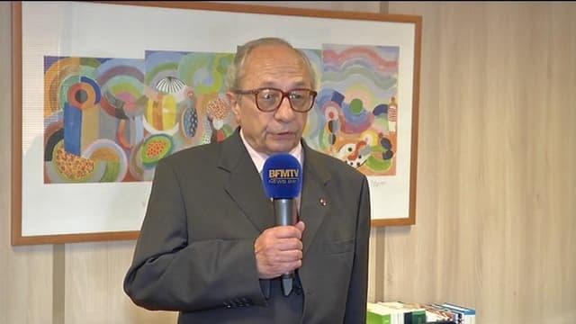 François Logerot, président la Commission nationale des comptes de campagne, le 5 juin.