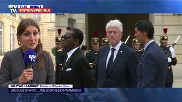 Emmanuel Macron reçoit 69 dirigeants étrangers et français pour un déjeuner à l'Élysée après l'hommage à Jacques Chirac