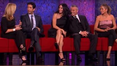 Jennifer Aniston, Courteney Cox, Lisa Kudrow, David Schwimmer et Matt LeBlanc, sur NBC