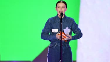 Millie Bobby Brown le 24 mars 2018