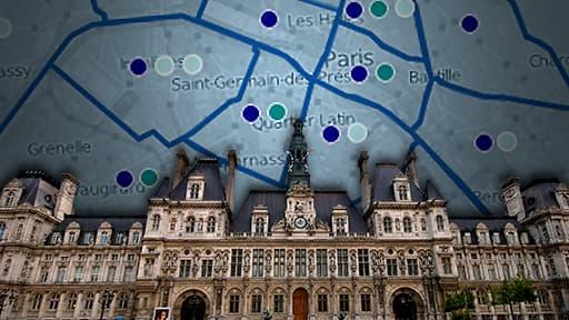 Des dissidences au sein de l'UMP se retrouvent dans presque tous les arrondissements parisiens.