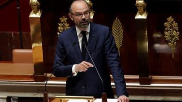 Edouard Philippe à l'Assemblée nationale le 9 avril 2019