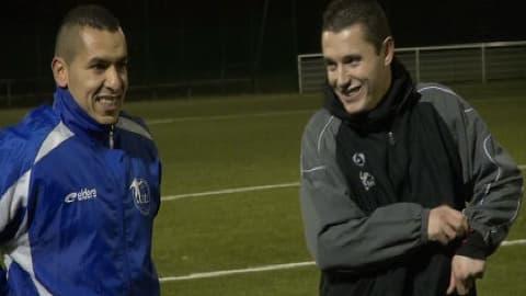 Deux joueurs du club d'Arras