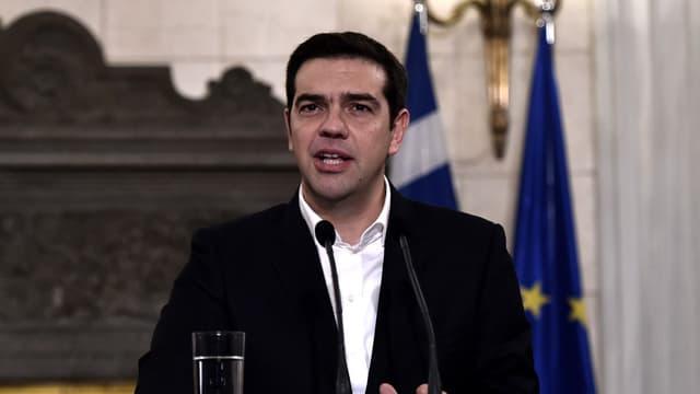 Le Premier ministre grec Alexis Tsipras.