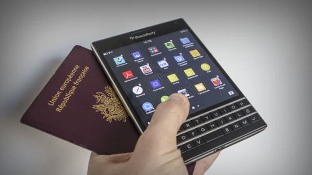 Le Blackberry Passport, dernier-né de la marque, est sorti en septembre et est ainsi nommé parce qu'il a la taille d'un passeport.