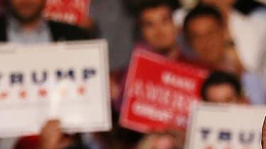 Donald Trump lors d'un meeting à Fort Lauderdale, en Floride, le 10 août.