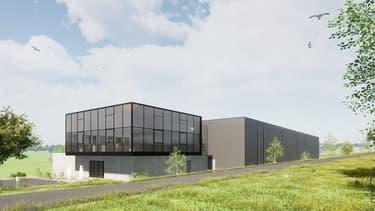 La future usine située à Ardoix (Ardèche) aura recours à la robotique pour rationaliser le processus d'assemblage des chaussures de sport.