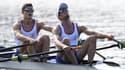 Pierre Houin et Jérémie Azou, médaillés d'or aux Jeux de Rio