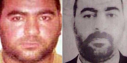 Des photos d'Abou Bakr Al-Baghdadi, diffusées par le Département d'Etat américain.