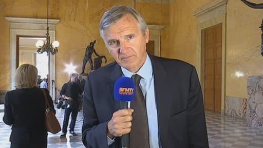"""Le """"filloniste"""" Dominique Dord, mardi, sur BFMTV"""