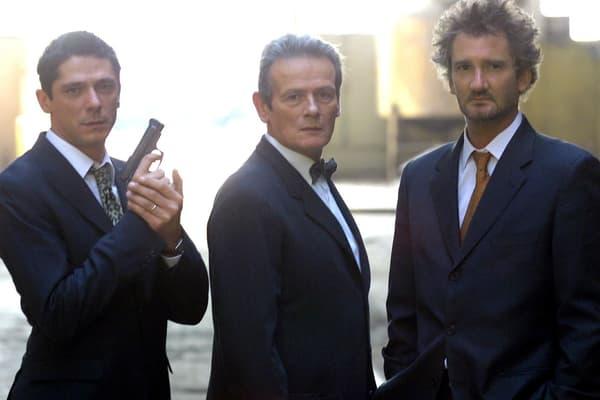 """Jean-François Garreaud (centre) dans la série """"La Crim"""""""