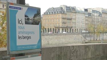 La mairie de Paris a commencé à aménager les voies sur berge.