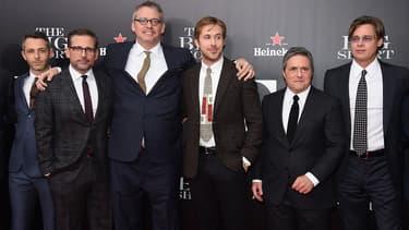 L'équipe du film The Big Short à New York