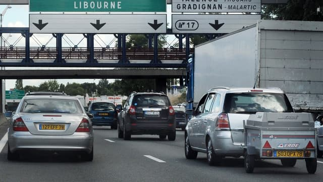 Trafic chargé sur les routes d'Ile-de-France ce mercredi