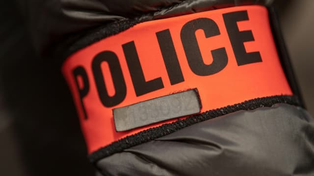 Badge police (PHOTO D'ILLUSTRATION).