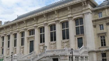 La Cour de cassation, sur l'île de la Cité à Paris.