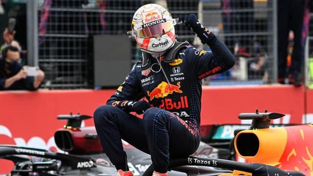 Max Verstappen, vainqueur du Grand Prix de France