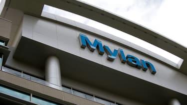 Siège de Mylan à Canonsburg, en Pennsylvanie (Etats-Unis), en juillet 2014.