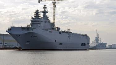 Le premier navire Mistral devait initialement être livré en novembre.
