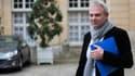 Thierry Lepaon, le leader de la CGT, à la sortie d'un entretien avec Jean-Marc Ayrault en novembre dernier.