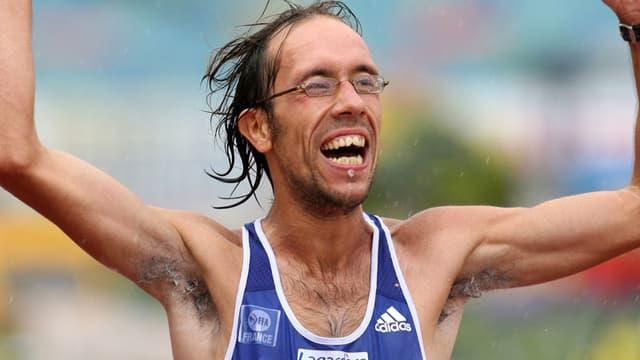 Yohann Diniz conserve son titre de champion d'Europe du 50 km marche