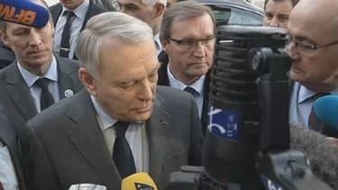 Le Premier ministre Jean-Marc Ayrault lundi 24 février