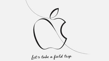 Le visuel du carton d'invitation envoyé par Apple à la presse