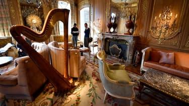 Pour cette vente, Artcurial s'est transformée pour l'occasion en réplique du Ritz.