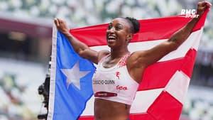 JO 2021 (Athlétisme) : La superbe victoire de Jasmine Camacho-Quinn au 100m haies (avec les commentaires RMC)