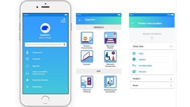 L'application Streetco es un GPS piétons collaboratif