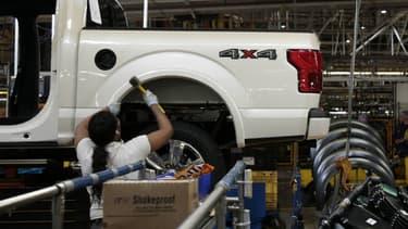Le pick-up Ford F-150 reste le modèle le plus vendu aux Etats-Unis.