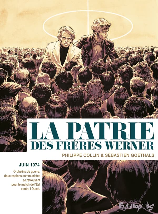 """La couverture de la BD """"La Patrie des Frères Werner"""""""
