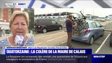 """Quatorzaine pour les voyageurs venant de France au Royaume-Uni: pour la maire de Calais, """"c'est une décision précipitée"""""""