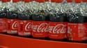 Des bouteilles de Coca-Cola (image d'illustration)