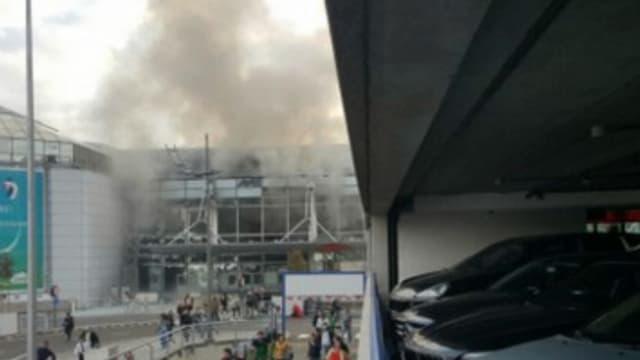 Dans le cadre des explosions à Bruxelles, la sécurité est renforcée à l'aéroport de Roissy - Mardi 22 mars 2016