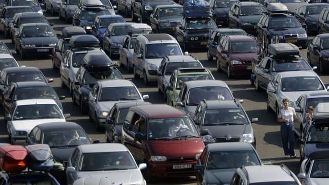 Des embouteillages