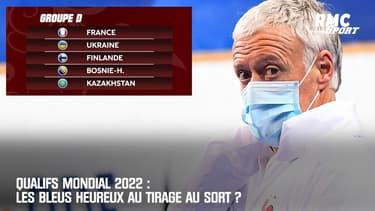 Qualifs Mondial 2022 : Les Bleus heureux au tirage au sort ?