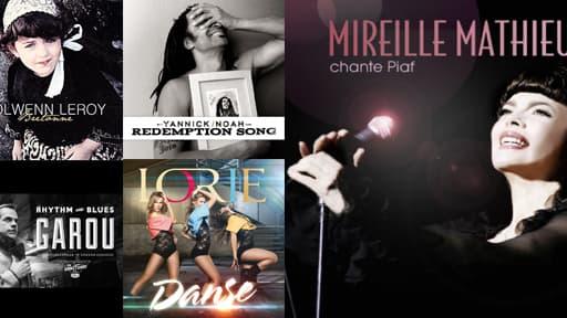De nombreux artistes sortent des albums de reprise à l'automne 2012.