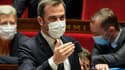 Le ministre de la Santé Olivier Véran à l'Assemblée nationale lors des débats autour du projet de loi sanitaire le 6 juillet 2021.