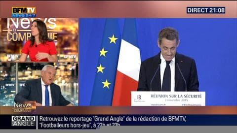"""""""Les Français veulent un chef d'Etat courageux et Nicolas Sarkozy l'incarne"""", Jean Pierre Raffarin"""